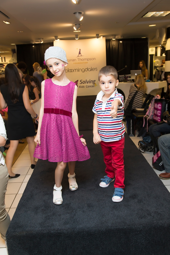 Ilaria Orlando attends RUNWAY HEROES Fashion Show Hosted by Bloomingdale's 59th Street featuring Childhood Cancer Fighters & Survivors