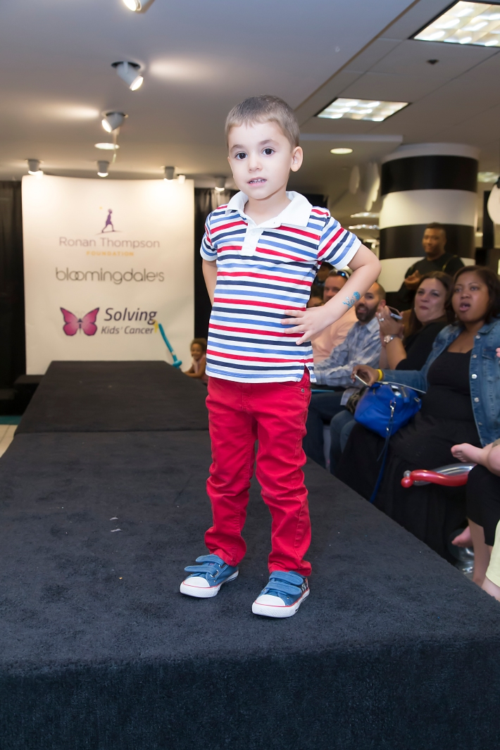 RUNWAY HEROES Fashion Show Hosted by Bloomingdale's 59th Street featuring Childhood Cancer Fighters & Survivors