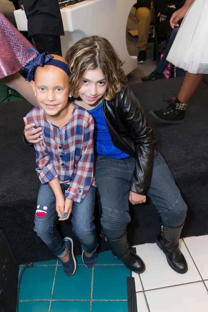Kaylee Rios, Julia Morreale attend RUNWAY HEROES Fashion Show Hosted by Bloomingdale's 59th Street featuring Childhood Cancer Fighters & Survivors