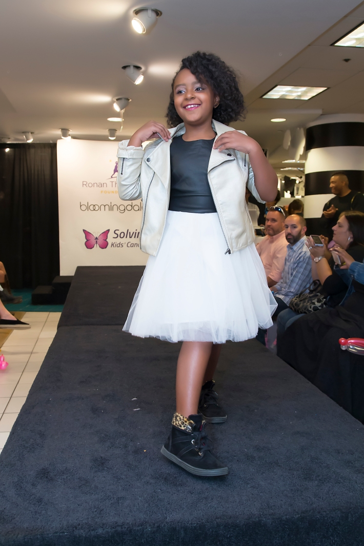 Olivia Lafond attends RUNWAY HEROES Fashion Show Hosted by Bloomingdale's 59th Street featuring Childhood Cancer Fighters & Survivors