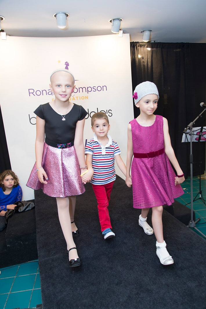 Tessa Prothero, Ilaria Orlando attend RUNWAY HEROES Fashion Show Hosted by Bloomingdale's 59th Street featuring Childhood Cancer Fighters & Survivors