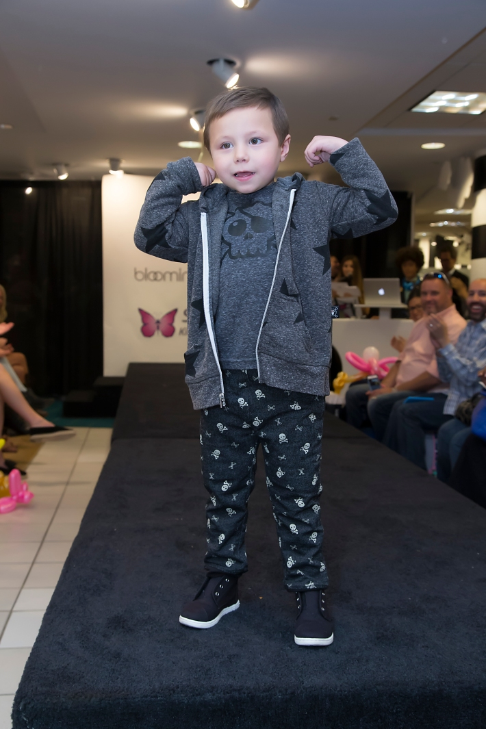 Vhito DeCapria attends RUNWAY HEROES Fashion Show Hosted by Bloomingdale's 59th Street featuring Childhood Cancer Fighters & Survivors