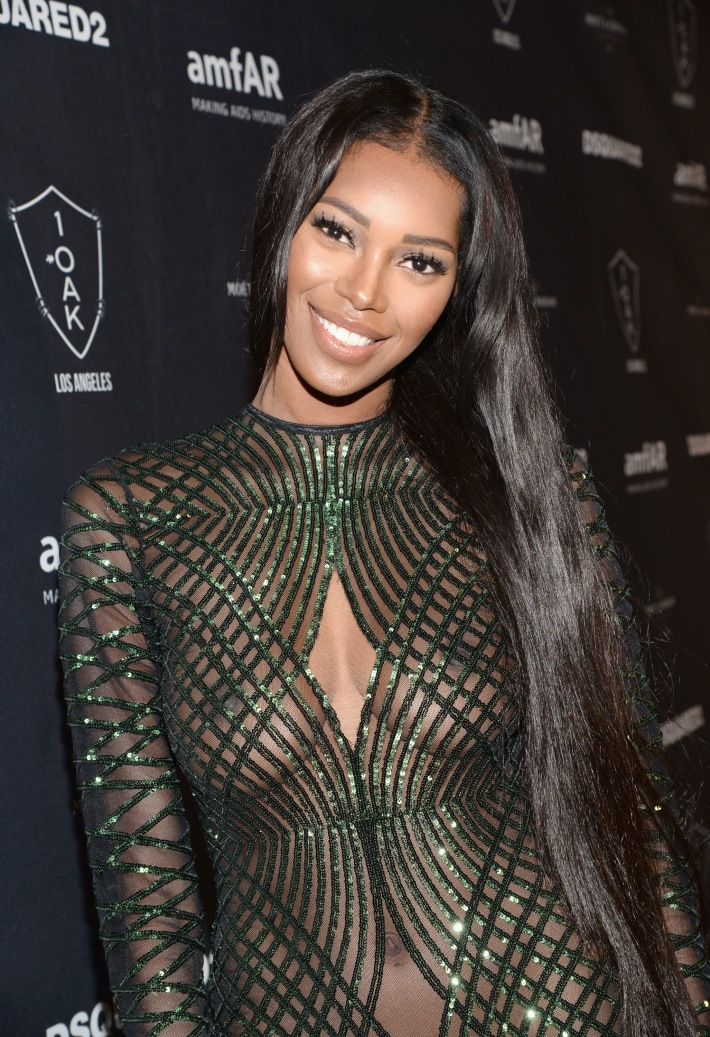 Jessica White attends DSQUARED2 And amfAR's Official After Party at 1OAK LA.  (Photo by Michael Kovac)