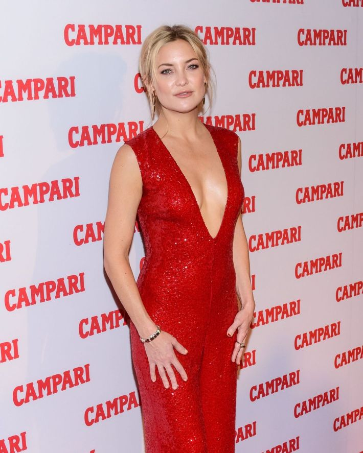 Kate Hudson attends Campari Launch of the Bittersweet Campaign