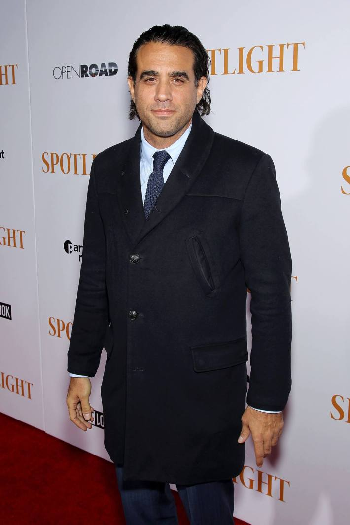 Bobby Cannavale attends the 'Spotlight' New York premiere at Ziegfeld Theater in New York City