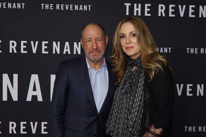 Cast attends  The Revenant New York City Film Premiere
