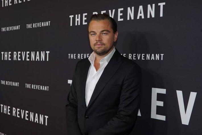 Leonardo DiCaprio attends  The Revenant New York City Film Premiere