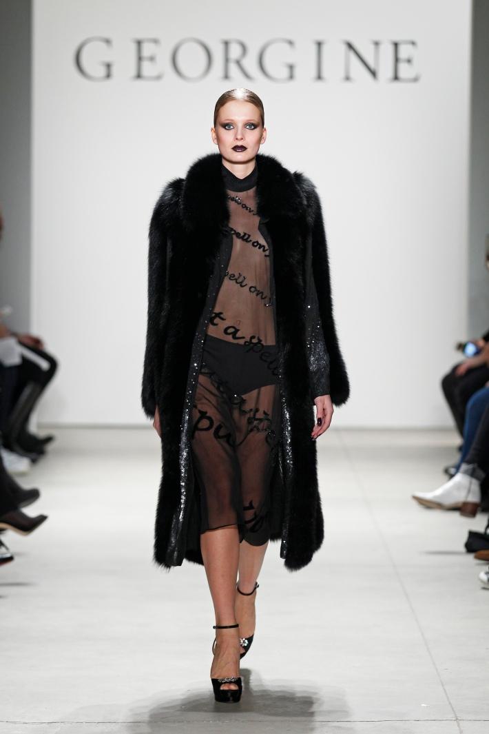 Georgine Fall/Winter 2016 New York Fashion Week