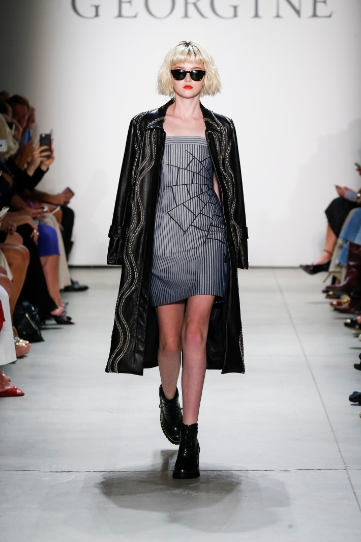 GEORGINE Spring/Summer 2017  New York Fashion Week  at The Gallery at Skylight Clarkson Square.