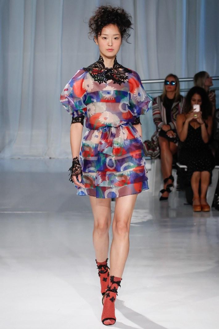 Reem Acra Spring/Summer 2017 – New York Fashion Week held at  Mercantile Annex