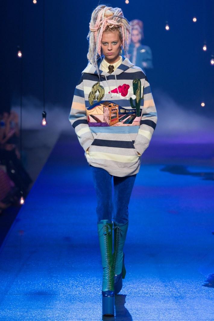 Marc Jacobs Spring/Summer 2017 – New York Fashion Week held at Hammerstein Ballroom