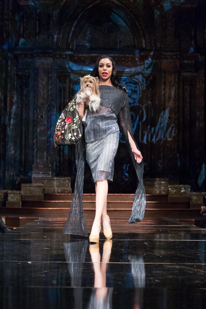 Anthony Rubio Fall/Winter 2017 - New York Fashion Week held at Angel Orensanz Center Photo by Mouhsine Idrissi Janati
