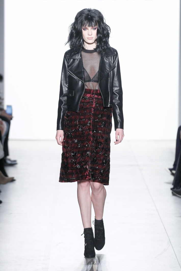 GEORGINE Fall/Winter 2017 - New York Fashion Week held in Gallery 2 at Skylight Clarkson Sq