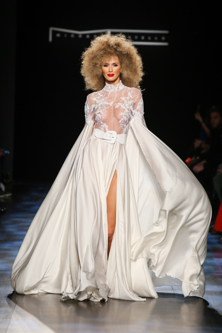 Michael Costello Fall/Winter 2017 - New York Fashion Week held in Gallery I at Skylight Clarkson Square